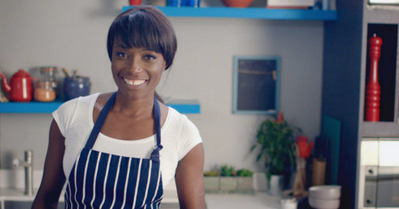 Lorraine Pascale i Festligare mat med Lorraine Pascale i SVT Play