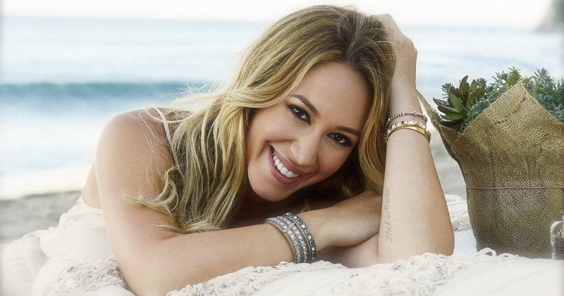 "Haylie Duff i serien ""Real Girl´s Kitchen"" i TV3 Plöay"