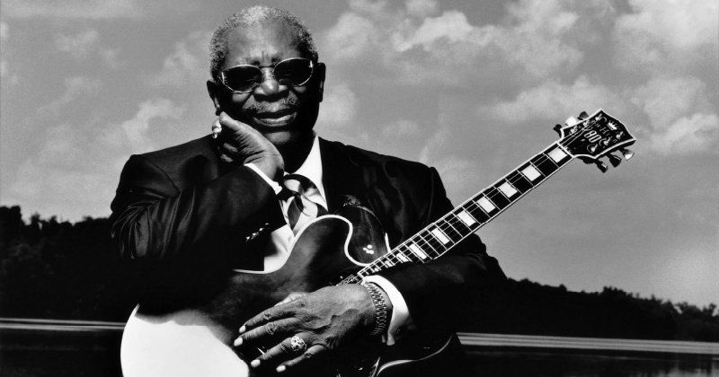 "BB KIng i dokumentären ""BB King: The Life of Riley"" i TV4 Play"