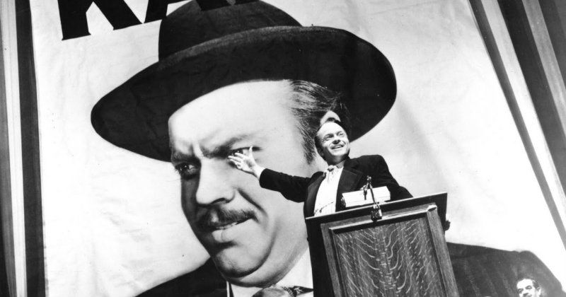 Orson Welles i Citizen Kane i SVT Play