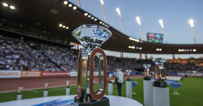 Pokal i Diamond League 2017 LIVE i SVT Play