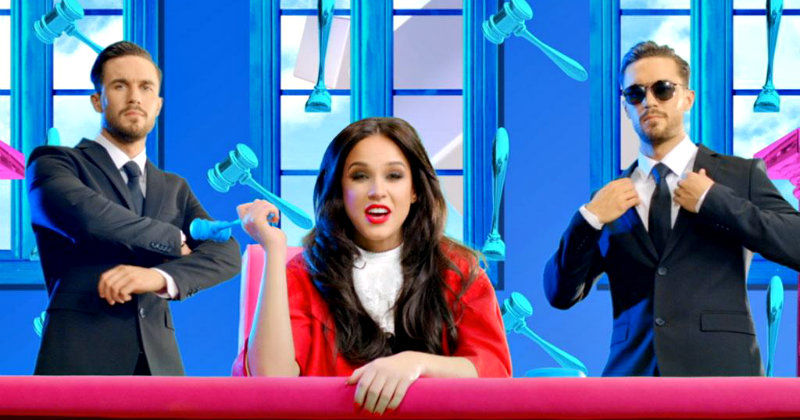 "Vicky Pattison i serien ""Judge Geordie"" i TV3 Play"