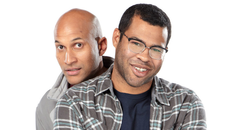 "Keegan-Michael Key and Jordan Peele i komediserien ""Key & Peele"" i TV3 Play"