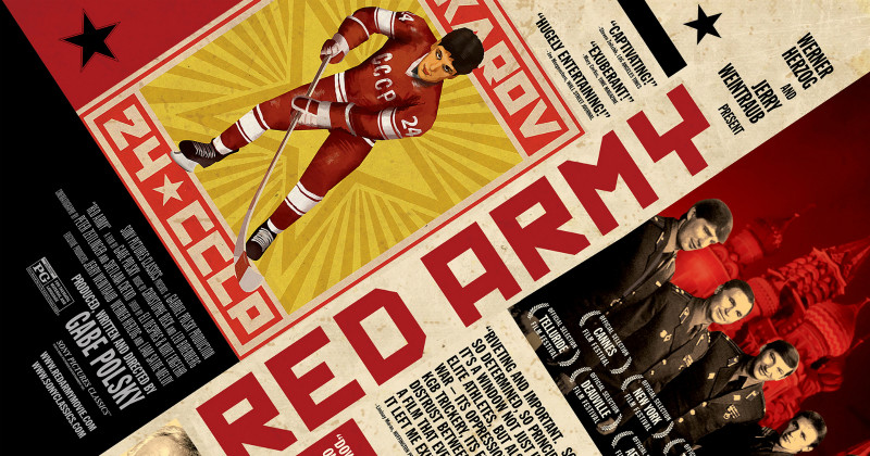 Fetisov i dokumentären Red Army i SVT Play