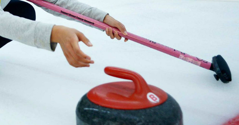 Curlingbild illustrerande Curling i SVT Play