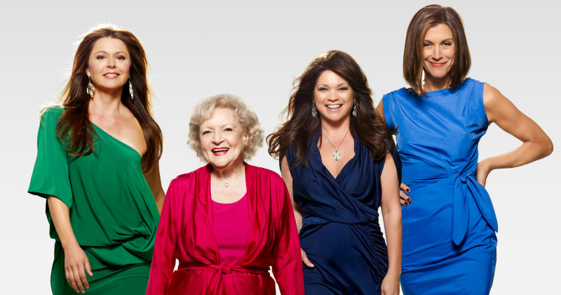 "Medverkande i serien ""Hot in Cleveland"" i TV3 Play"