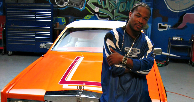 "Xzibit i realityserien ""Pimp My Ride"" i TV3 Play"