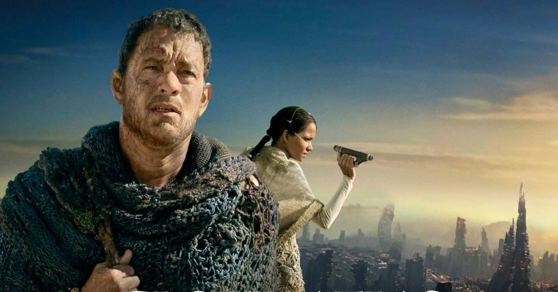 Tom Hanks och Halle Berry i Cloud Atlas i SVT Play