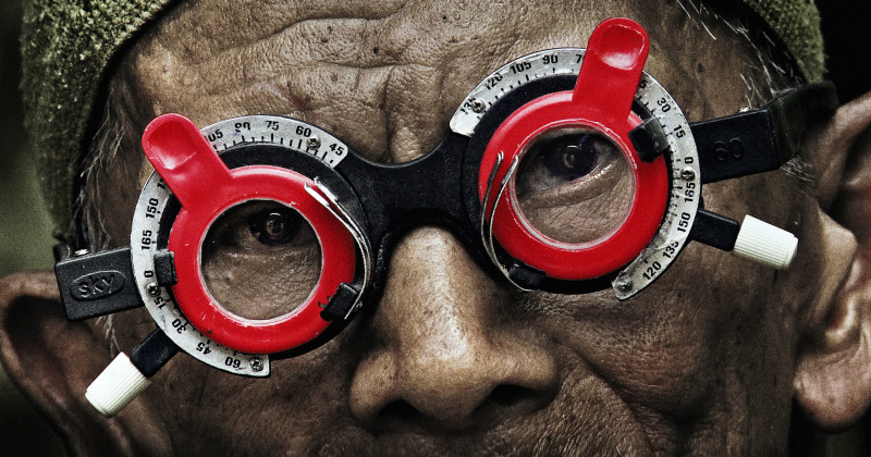 Man i dokumentären The Look of Silence i SVT Play