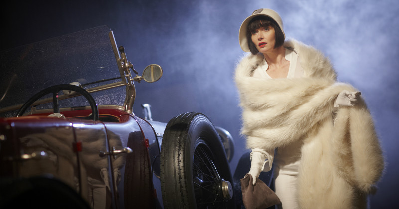 "Phryne Fisher i kriminalserien ""Miss Fishers Murder Mysteries"" i TV8 Play"