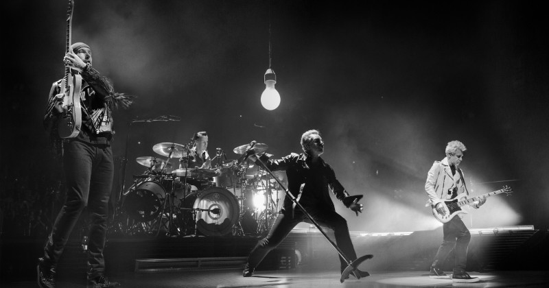 U2 live i Paris i SVT Play