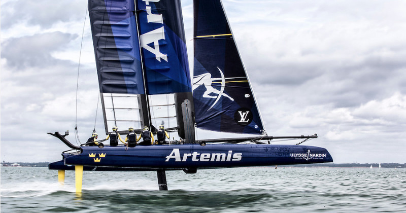 "Segling i ""Artemis Racing - Road to Bermuda"" i TV4 Play"
