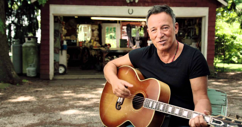 Bruce Springsteen i dokumentären The Ties That Bind i SVT Play