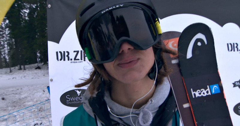 "Skidåkare i ""Swedish Slopestyle Tour"" i TV4 Play"