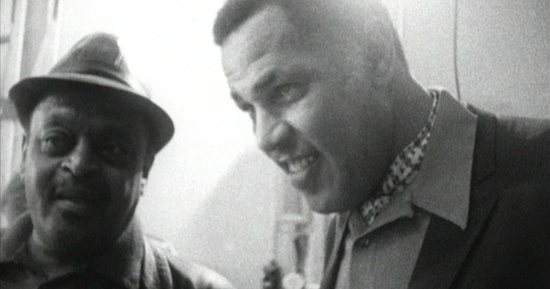 Ben Webster och Dexter Gordon i dokumentären Cool Cats