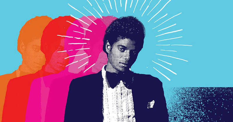 "Michael Jackson i ""Michael Jackson: Från Motown till Off the Wall"" i SVT Play"