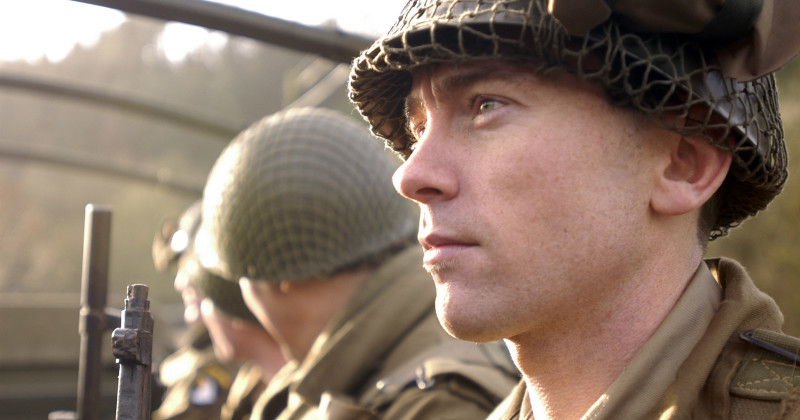 "Soldat i dokumentärserien ""Ten Days to Victory"" i TV10 Play"