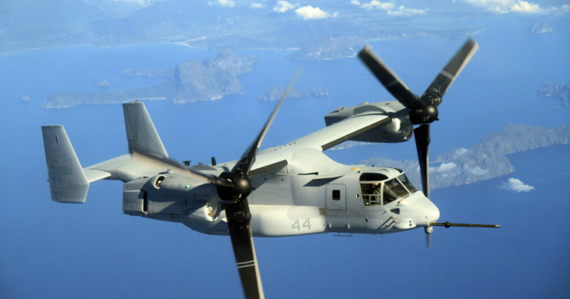 V-22 Osprey i Air Warriors i TV10 Play