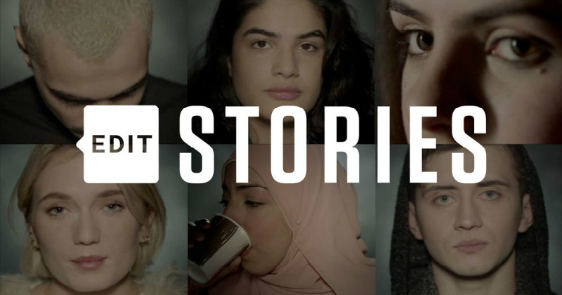 "Svenska ungdomar i ""Edit: Stories"" i SVT Play"