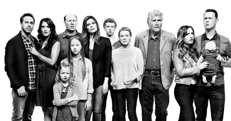 Huvudpersoner i komediserien Life in Pieces TV3 Play