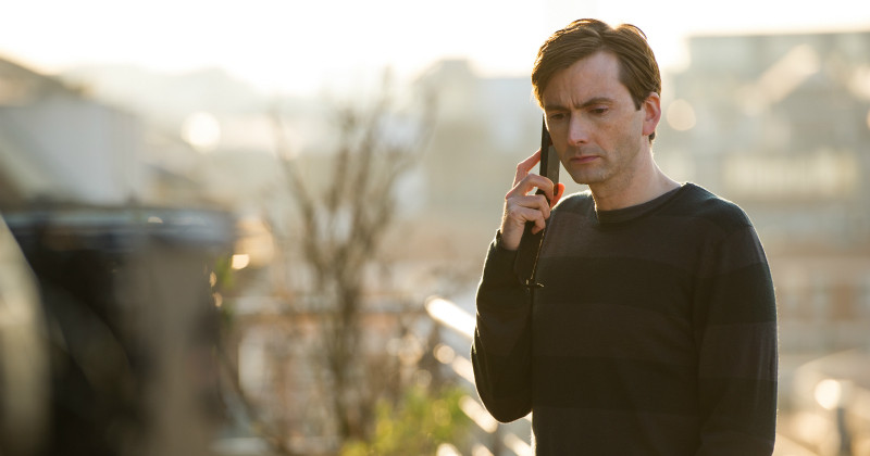 "David Tennant i ""The Escape Artist"" i TV4 Play"