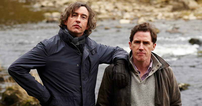 "Steve Coogan och Rob Brydon i humorserien ""The Trip"" i TV4 Play"