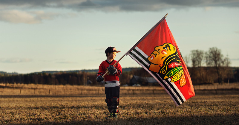 Home of the Brave, Blackhawk fan i Home of the Brave i SVT Play