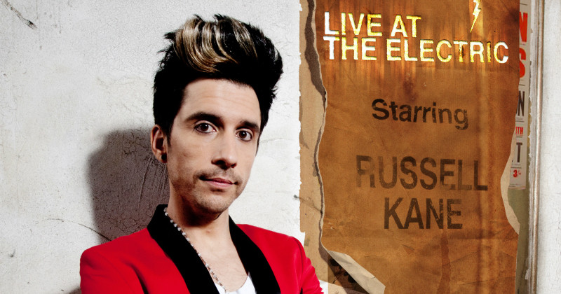 "Russell Kane i ""Live at the Electric"" i TV4 Play"