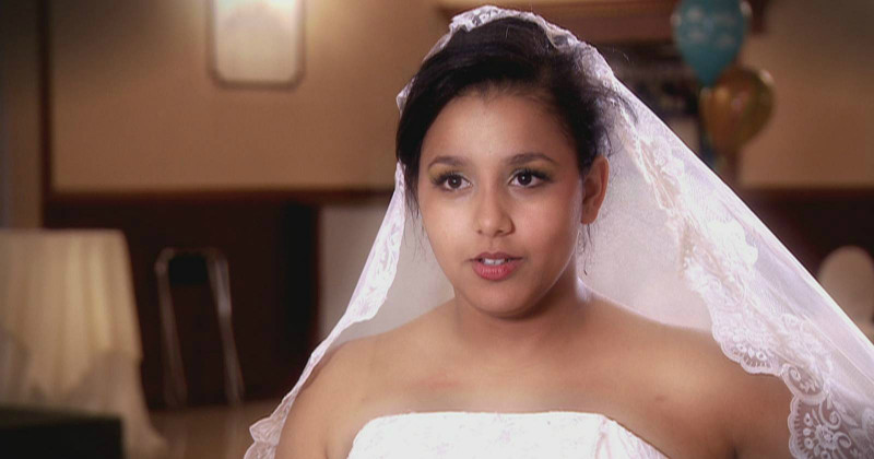 "Ung brud i serien ""My Teenage Wedding"" i TV3 Play"