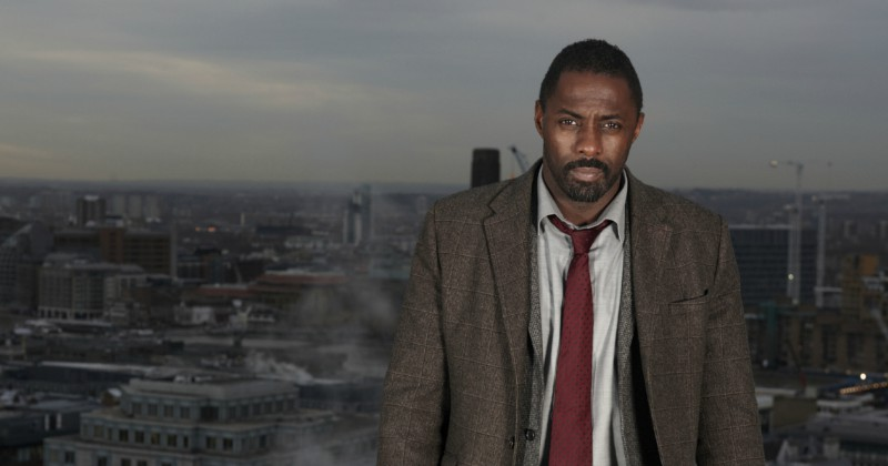 Idris Elba i kriminalserien Luther på SVT Play