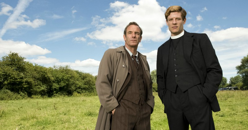 Grantchester på SVT Play streama