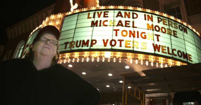 Michael Moore in Trumpland i SVT Play