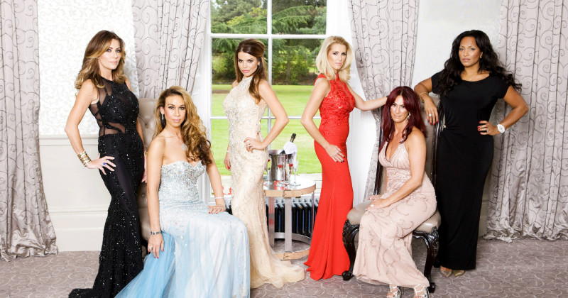 Kvinnorna i The Real Housewives Of Cheshire i TV3 Play