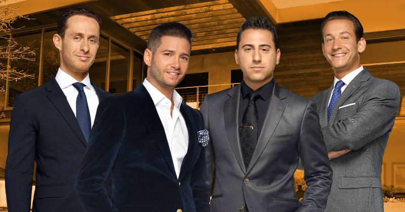"Mäklare i realityn ""Million Dollar Listing"" i TV8 Viafree"