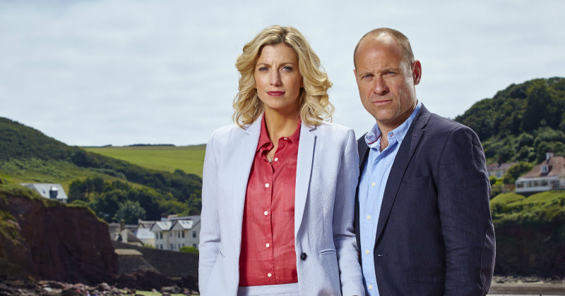 "Medverkande i serien ""The Coroner"" i TV4 Play"