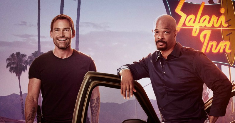 "Riggs och Murtaugh i actionserien ""Lethal Weapon"" på TV6 Play"