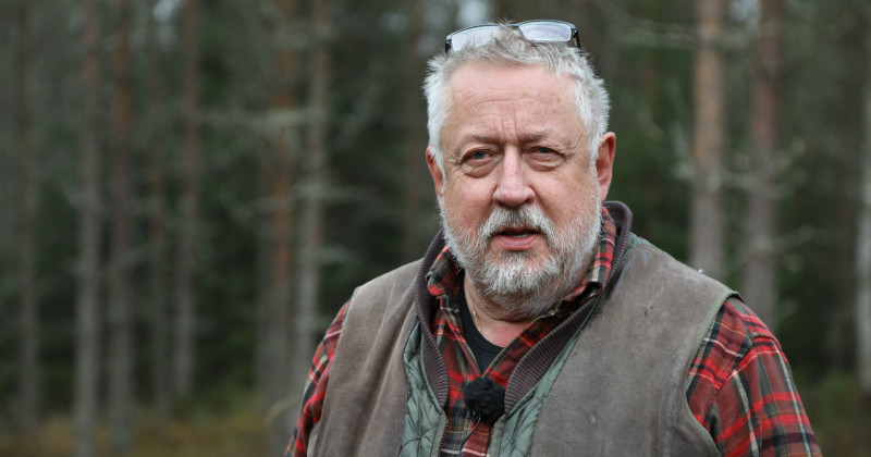 Leif GW Persson i GW:s mord i TV4 Play