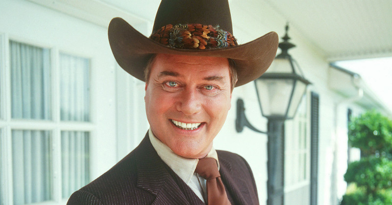 "JR Ewing i serien ""80-talets USA"" i UR Play"