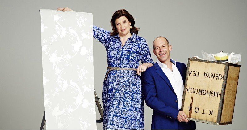 Kirstie Allsopp och Phil Spencer i Love it or list it i TV8 Play