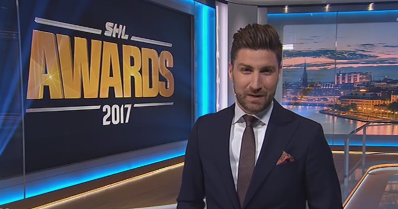 Programledare i SHL Awards 2017 i TV4 Play