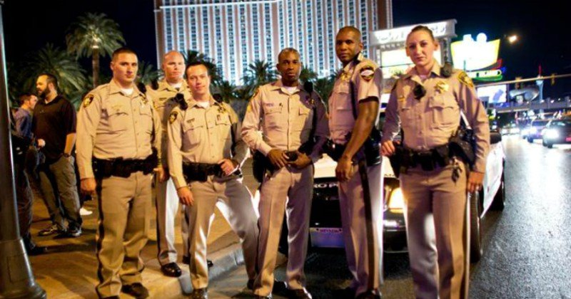 "Poliser i realityserien ""Las Vegas Strip"" i TV4 Play"