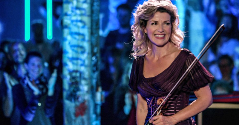 "Anne-Sophie Mutter i ""Mutter Club Concert"" i SVT Play"