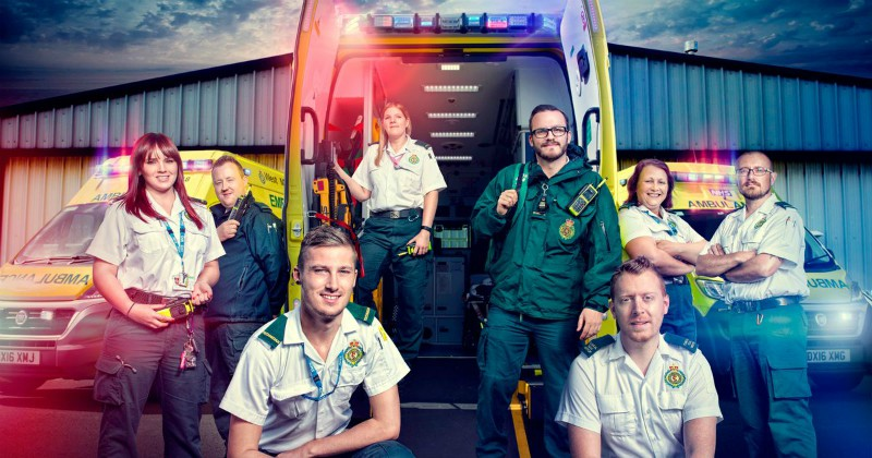 """Inside the Ambulance"" i TV4 Play"