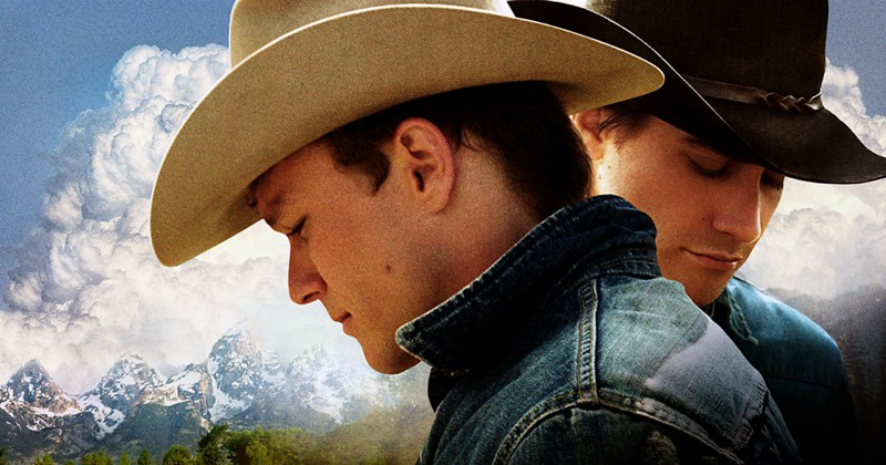 Jake Gyllenhaal och Heath Ledger i Brokeback Mountain i SVT Play