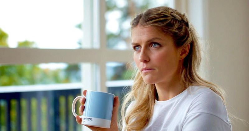 "Therese Johaug i dokumentären ""Therese Johaug - chocken"" i SVT Play"