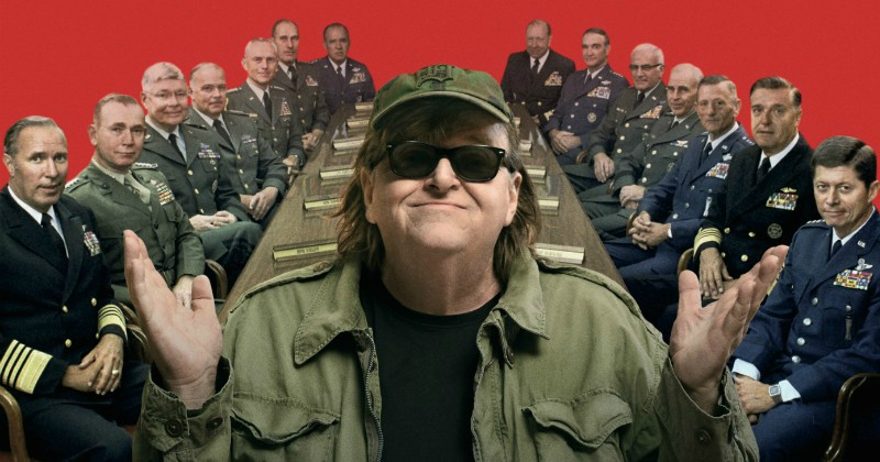 Michael Moore i Where to Invade Next i SVT Play