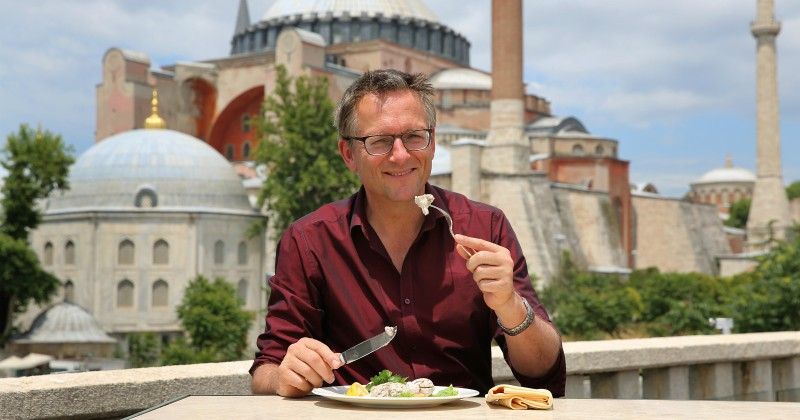 Michael Mosley i Istanbul i Mat med Mosley
