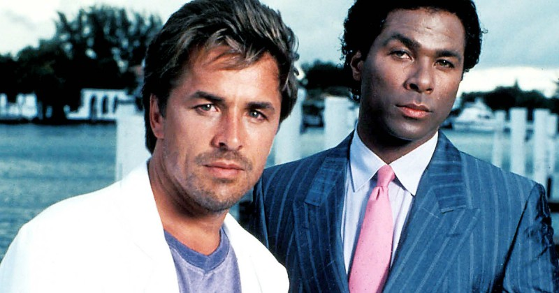 "Sonny och Rico i serien ""Miami Vice"" i TV4 Play"