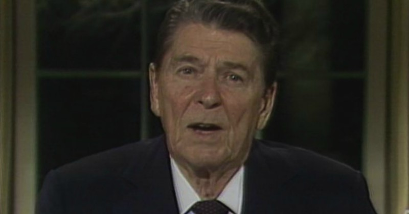 Reagan i Americas War on Durgs på TV10 Play