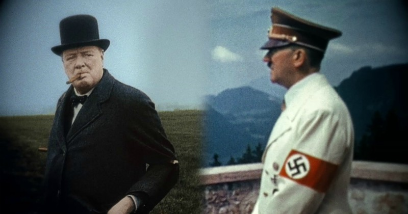 Hitler vs Churchill på SVT Play